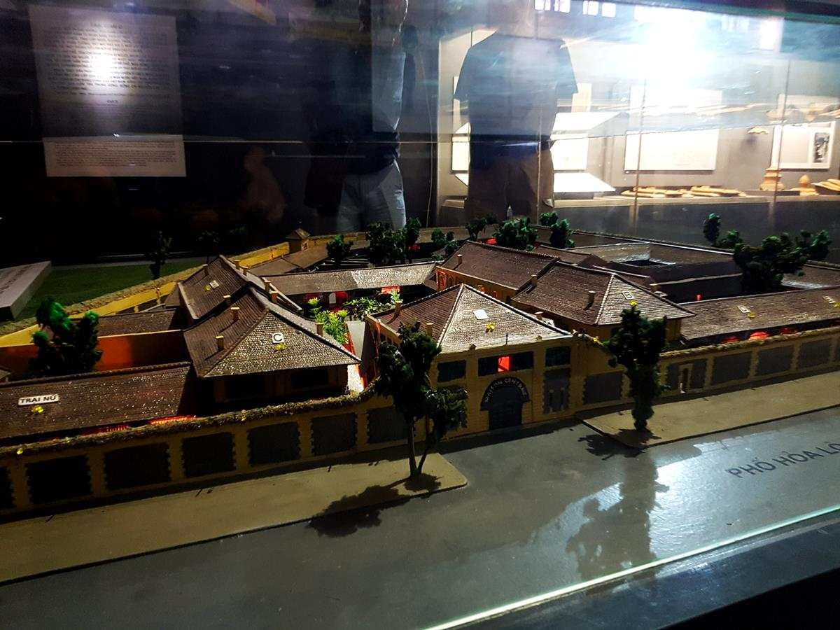 The model of Hoa Lo prison