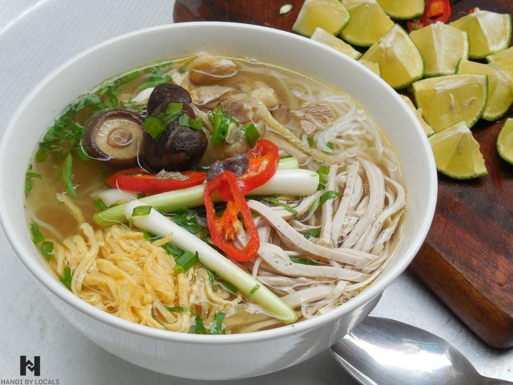 Bun thang, Combo Hanoi noodle soup